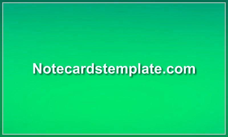 notecardstemplate.com