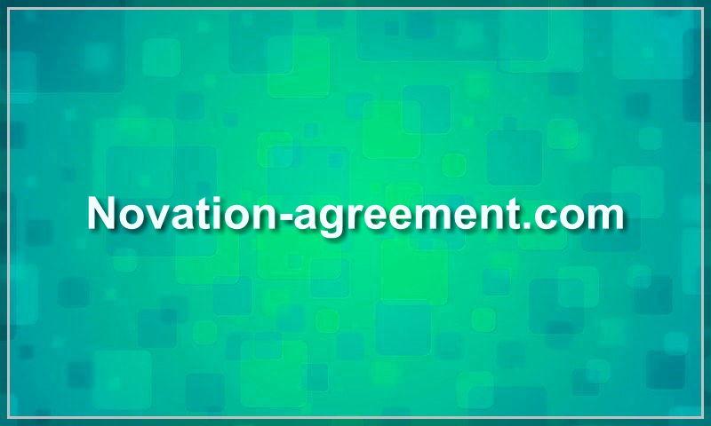 novation-agreement.com