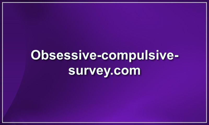 obsessive-compulsive-survey.com