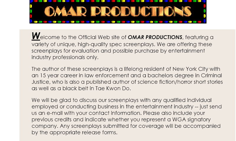 omarfilmproductions.com