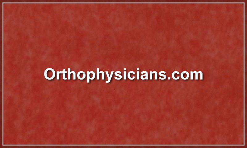 orthophysicians.com