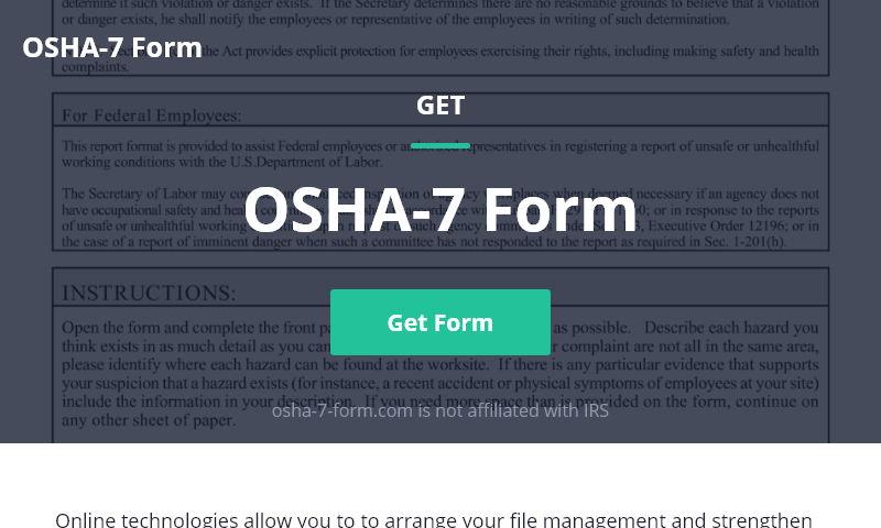 osha-7-form.com
