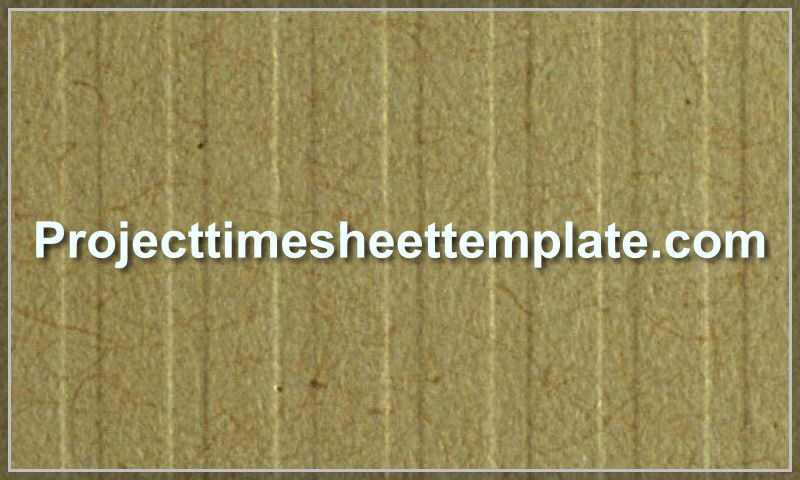 projecttimesheettemplate.com