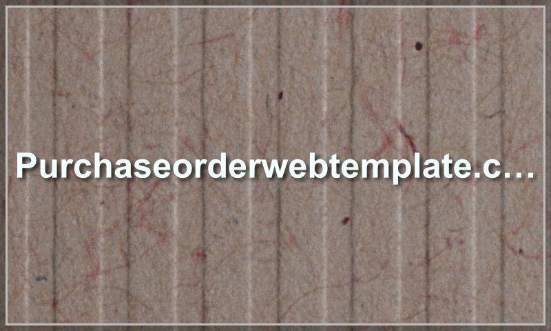 purchaseorderwebtemplate.com