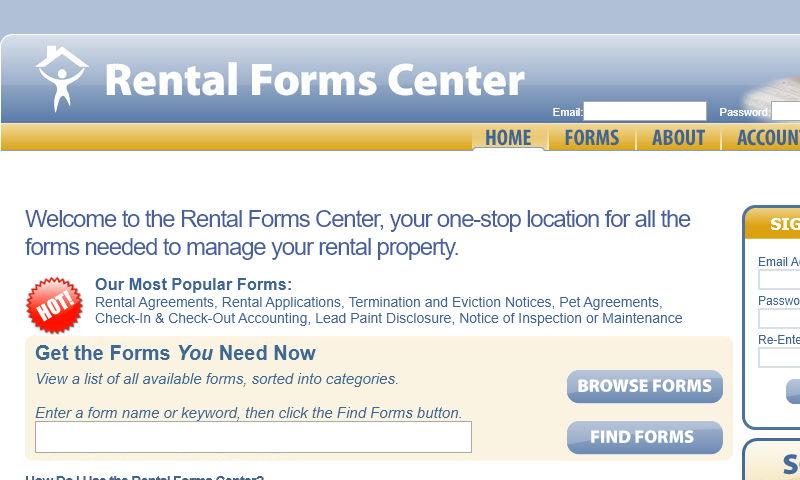 rentalformcenter.com