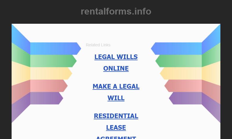 rentalforms.info