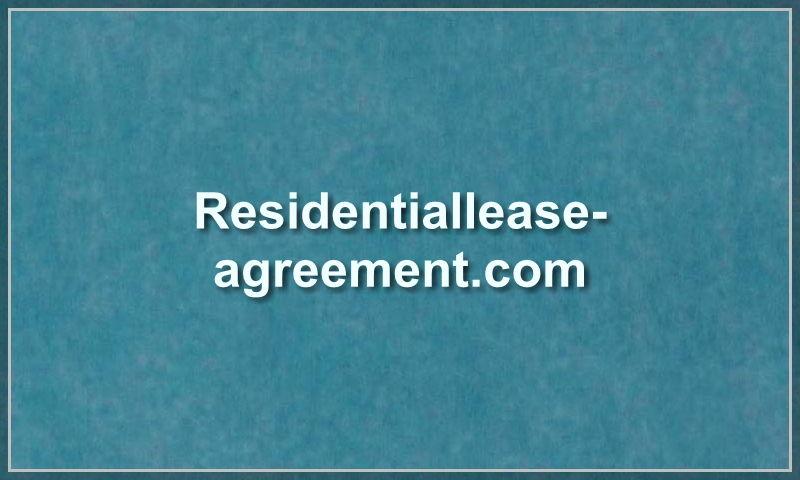 residentiallease-agreement.com