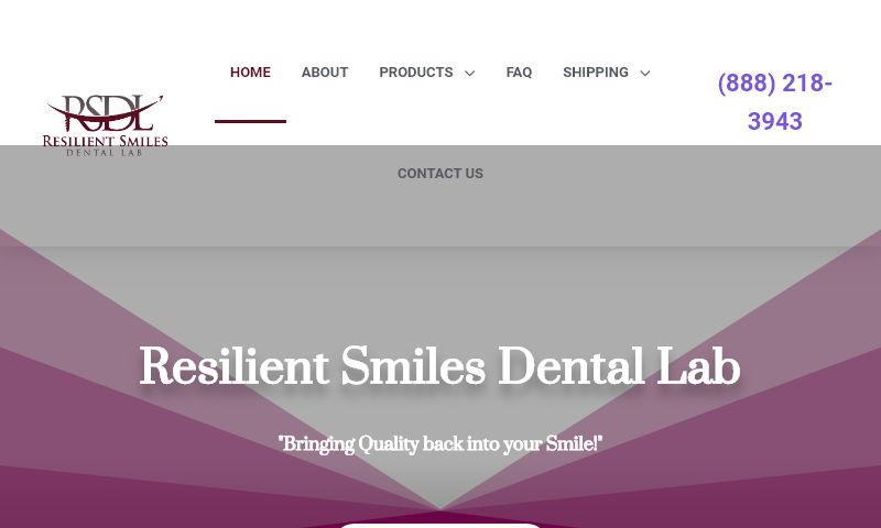 resilientsmilesdentallab.com