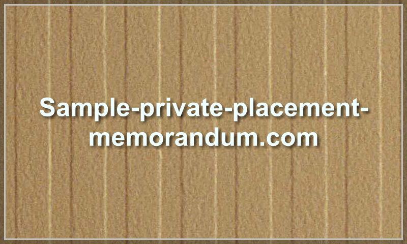 sample-private-placement-memorandum.com.jpg