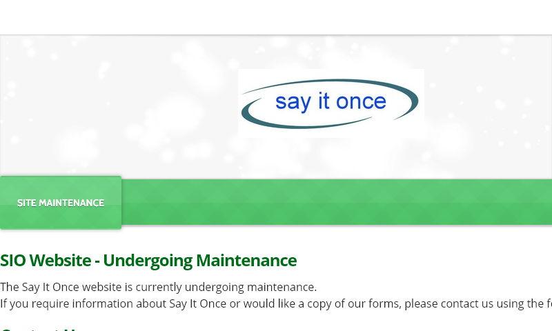 sayitonce.info