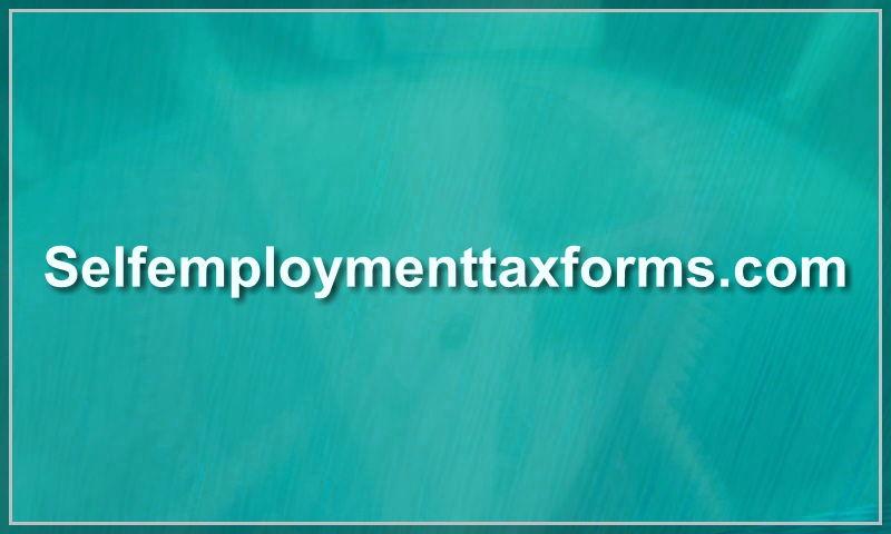 selfemploymenttaxforms.com