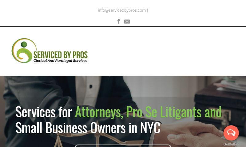 servicedbypros.com