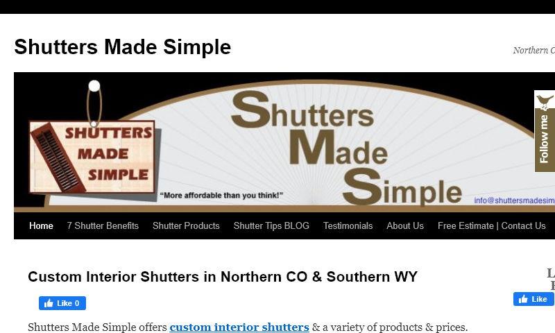 shuttersmadesimple.net