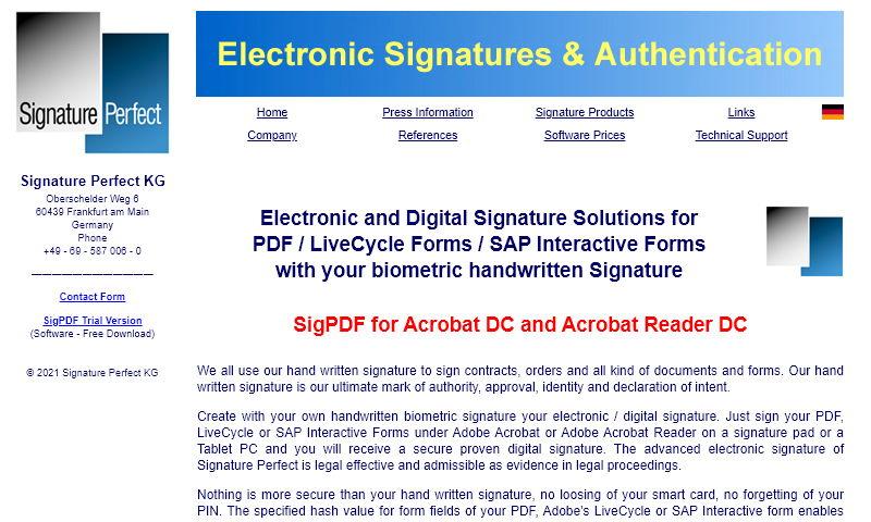 www.signatureperfect.net