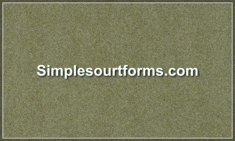 simplesourtforms.com