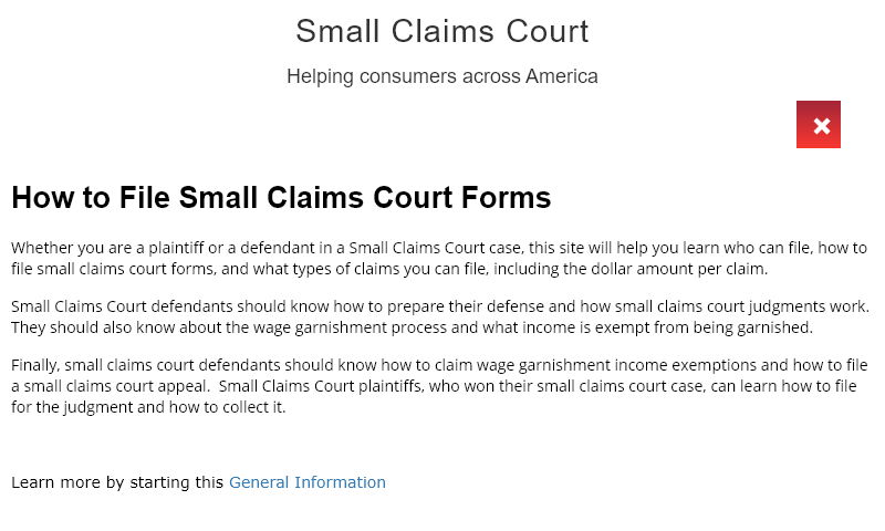 small-claims-courts.com