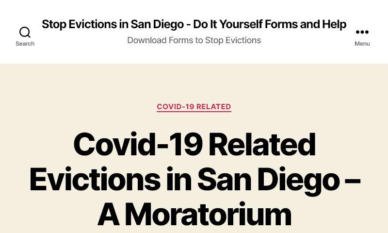 stopevictionsandiego.com