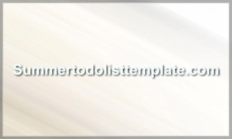 summertodolisttemplate.com