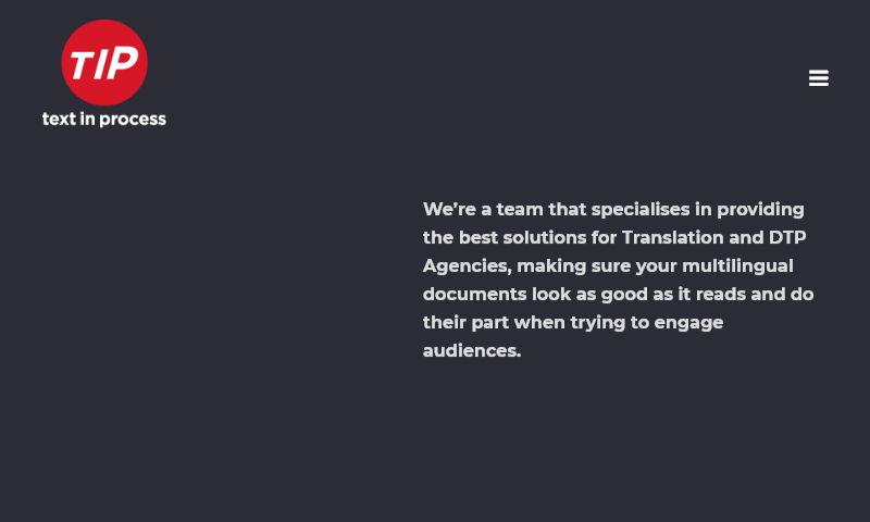 textinprocess.com