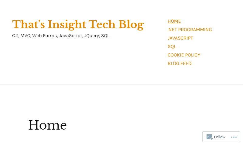thatsinsighttechblog.com