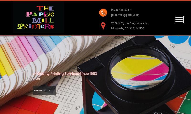 thepapermillprinters.com