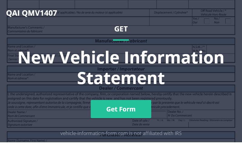 vehicle-information-form.com