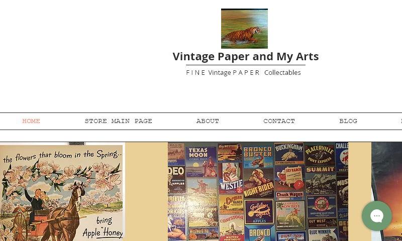 vintagepaperarts.com
