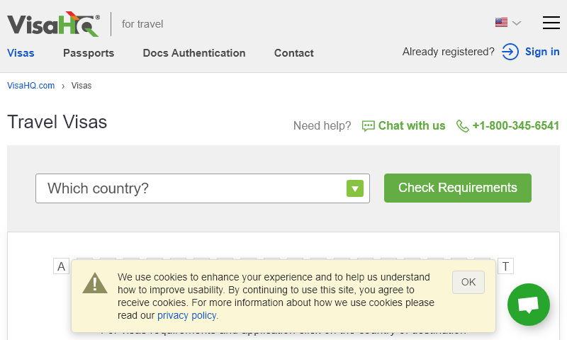visa-requirements.com