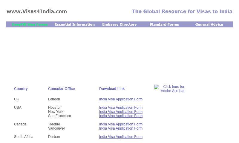 visasforindia.com