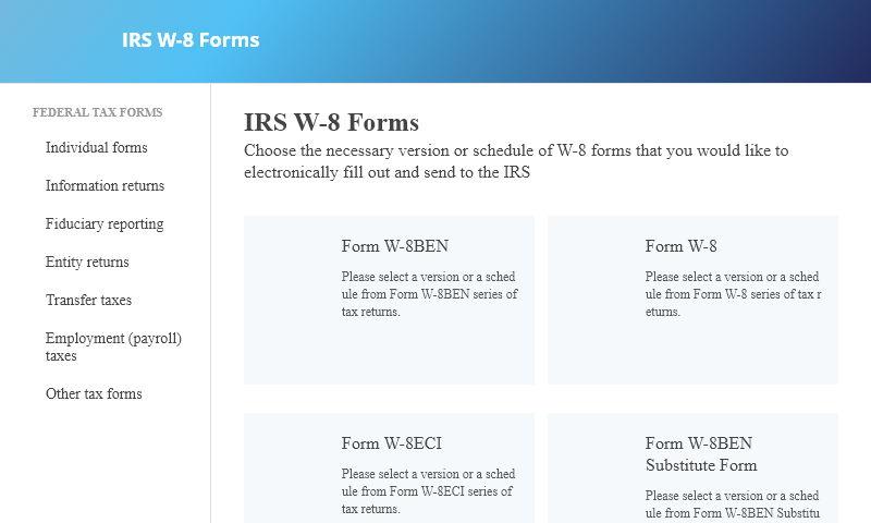 w-8-forms.com