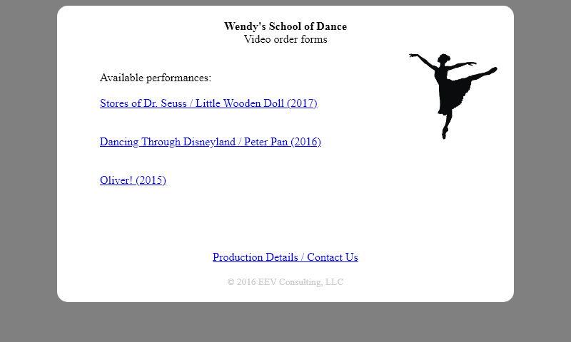 wendysdance.com