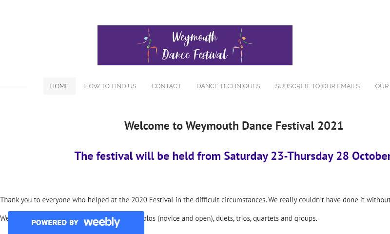 weymouthdancefestival.org