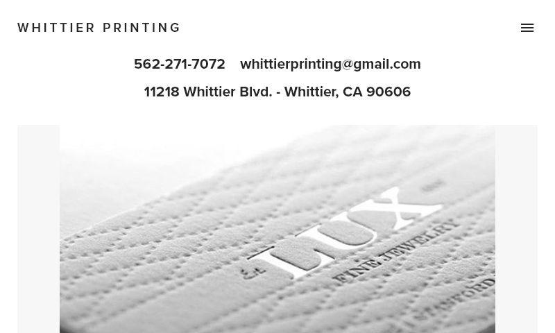 whittierprinting.com