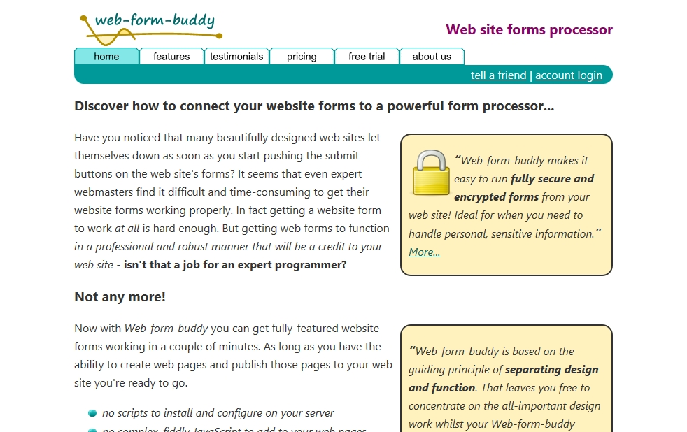 web-form-buddy.com